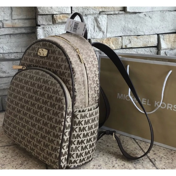 c231c2a1903f Michael Kors Bags | New 348 Backpack Mk Abbey Large Bag | Poshmark